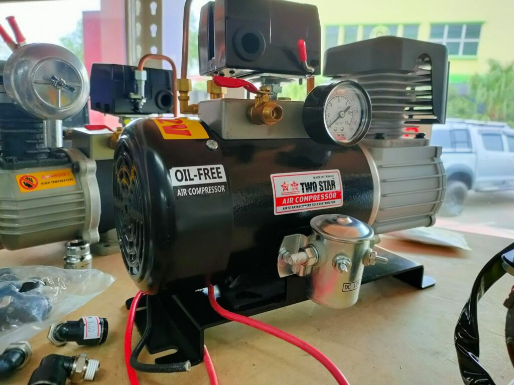 Two Star Onboard Air Compressor Footing