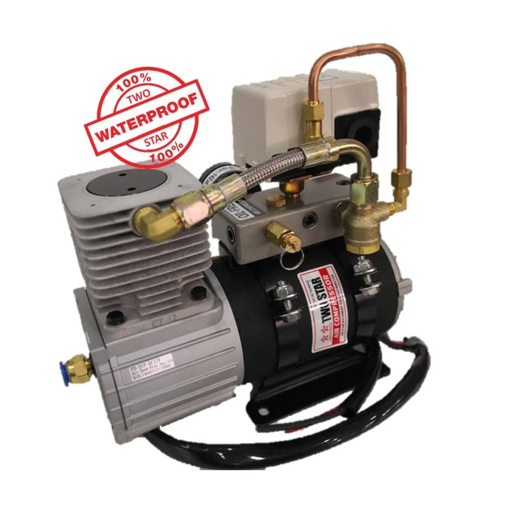 Two Star Waterproof Air Compressor