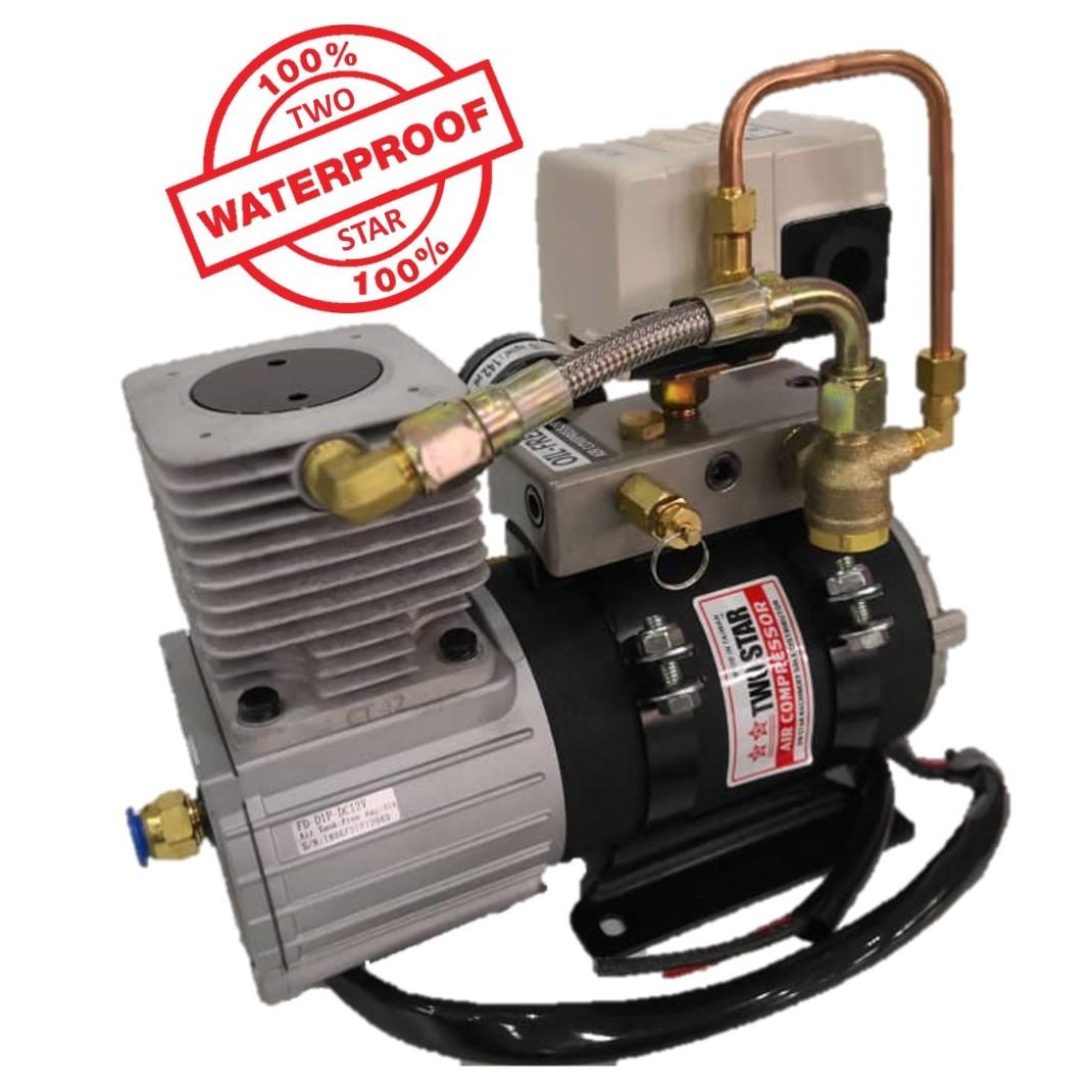 Two Star Waterproof FD-D1P Air Compressor