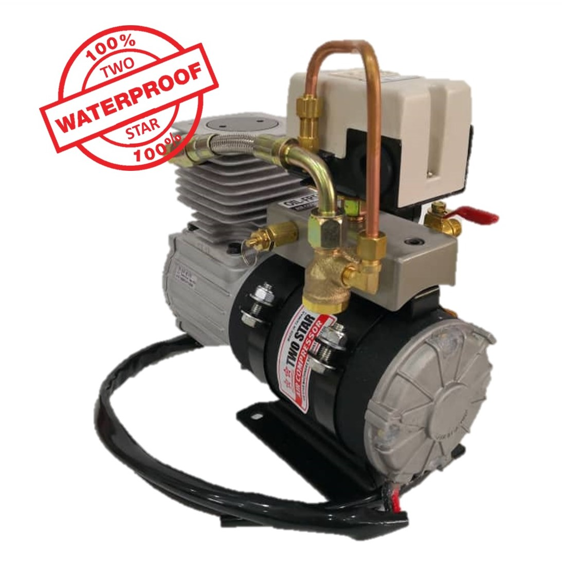 Two Star Waterproof FD-D1P Air Compressor